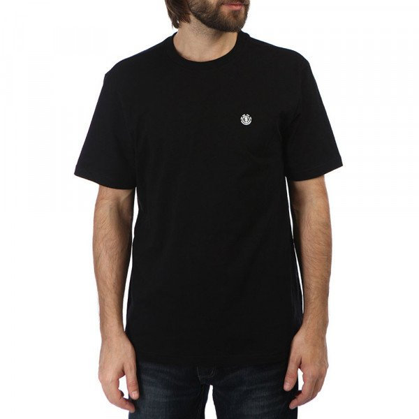 ELEMENT T-SHIRT CRAIL FLINT BLACK S20