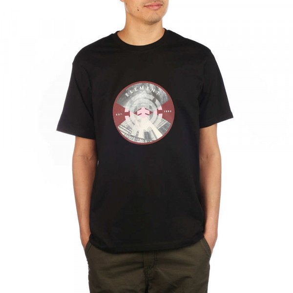 ELEMENT T-SHIRT AIKEN SS FLINT BLACK S20