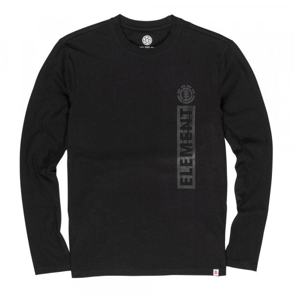 ELEMENT LONGSLEEVE BARCUS LS FLINT BLACK S20