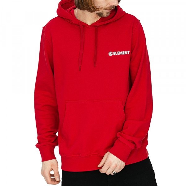 ELEMENT HOOD BLAZIN CHEST FT HOOD CHILI PEPPER S20