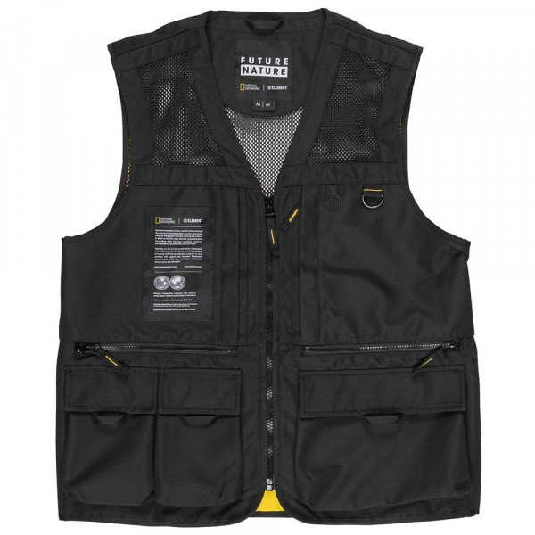 ELEMENT VESTE AETHER VEST FLINT BLACK S20