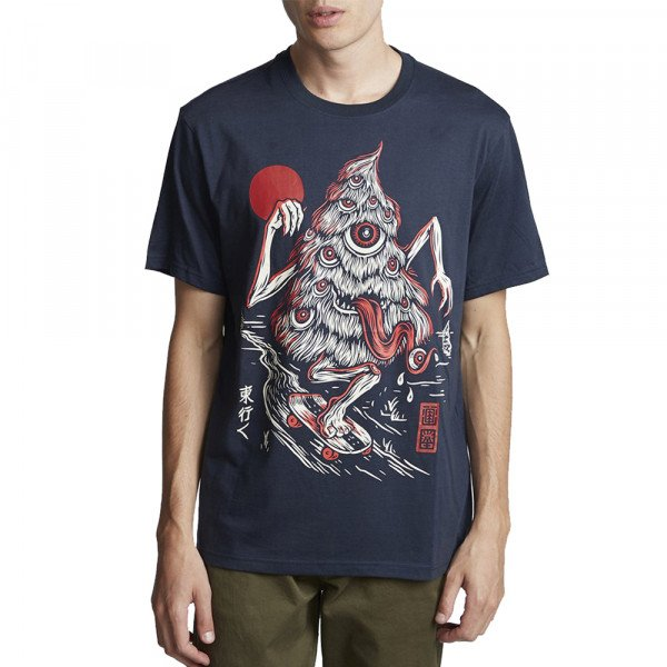 ELEMENT T-SHIRT TREE GHOST SS INDIGO S20