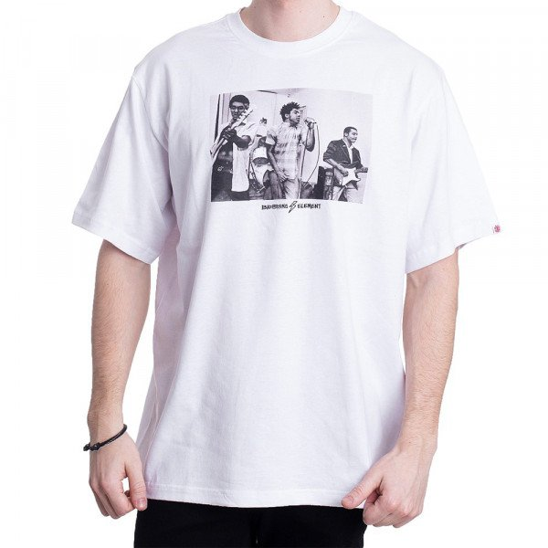 ELEMENT T-SHIRT 2318 SS OPTIC WHITE S20