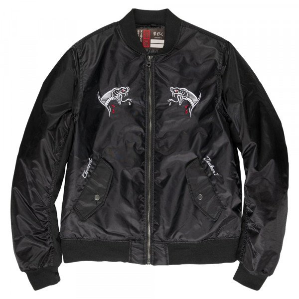 ELEMENT JAKA GO EAST SOUVENIR JACKET FLINT BLACK S20