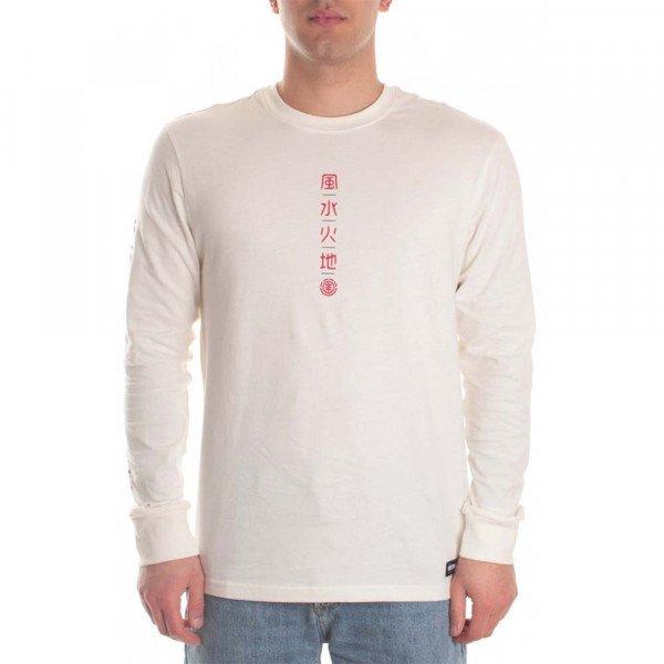 ELEMENT LONGLSEEVE TAKASHI LS OFF WHITE S20