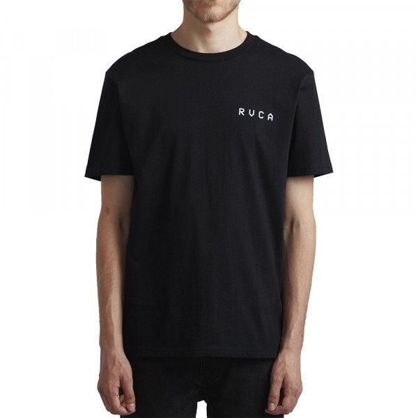 RVCA T-SHIRT JOHANNAS HEADS SS BLACK S20