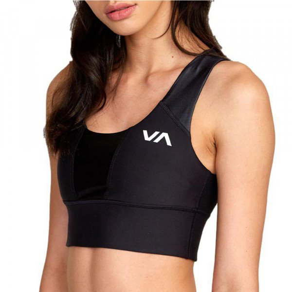 RVCA TOPS MATTE SHINE BRA BLACK S20