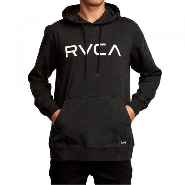RVCA HOOD BIG RVCA HOODIE BLACK S20