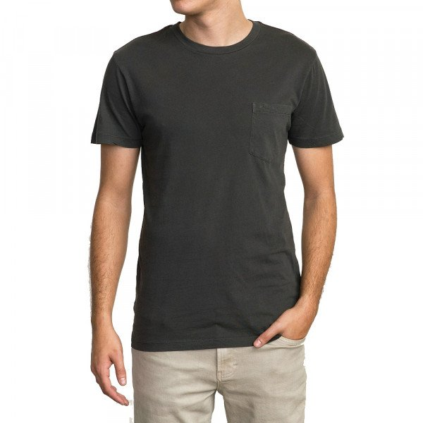 RVCA T-SHIRT PTC 2 PIGMENT SS PIRATE BLACK