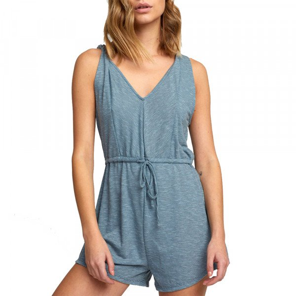 RVCA TOPS RIGHTEOUS ROMPER STORM S20