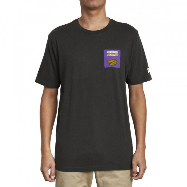 RVCA T-SHIRT TAQUERIA SS PIRATE BLACK S20