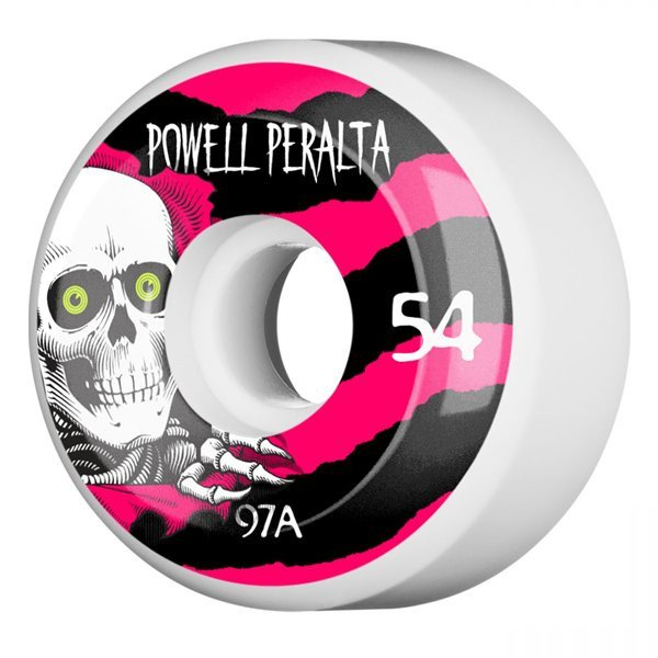 POWELL PERALTA RITENĪŠI RIPPER 4 54 MM 97A WHITE