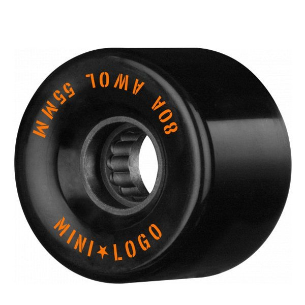 MINI LOGO RITENĪŠI A.W.O.L. 55 MM 80A BLACK