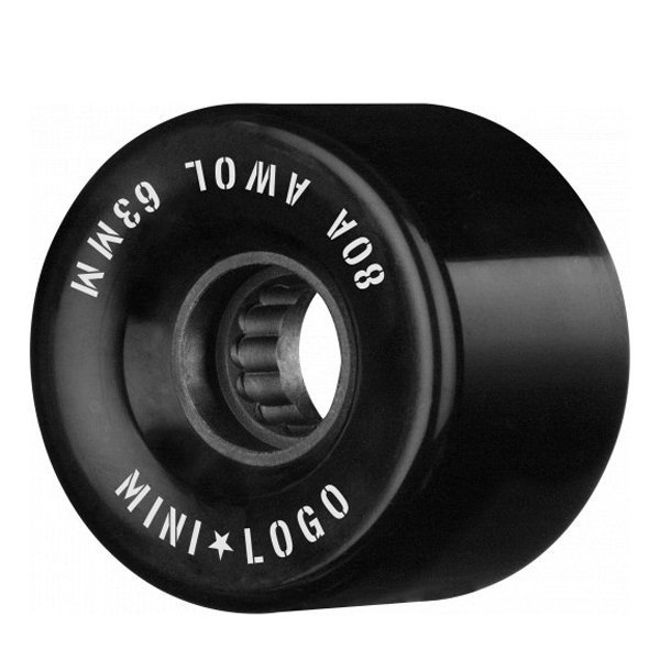 MINI LOGO RITENĪŠI A.W.O.L. 63 MM 80A BLACK