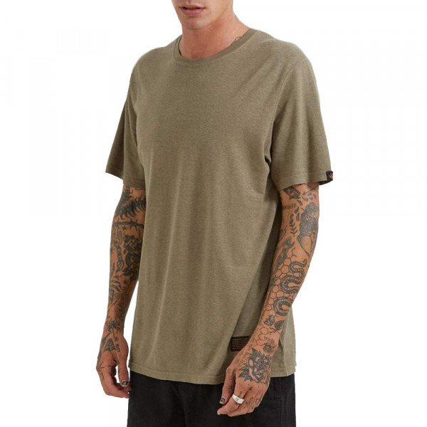 AFENDS T-SHIRT CLASSIC COVERT GREEN S20
