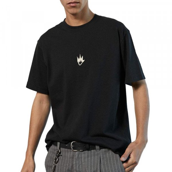 AFENDS T-SHIRT FLAME BLACK S20