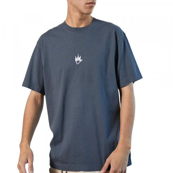 AFENDS T-SHIRT FLAME SLATE S20