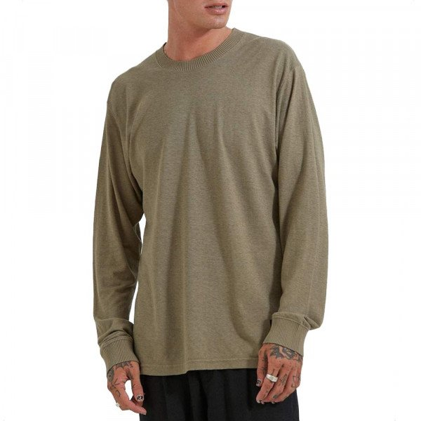 AFENDS LONGSLEEVE LIVING COVERT GREEN S20