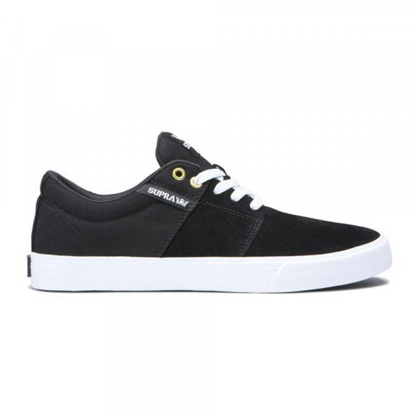 SUPRA APAVI STACKS II VULC BLACK BLACK WHITE
