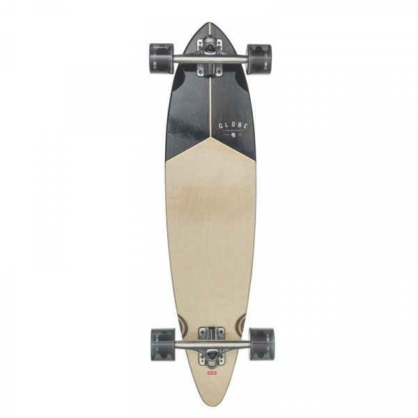 GLOBE LONGBOARD PINTAIL WALNUT BLACK 34