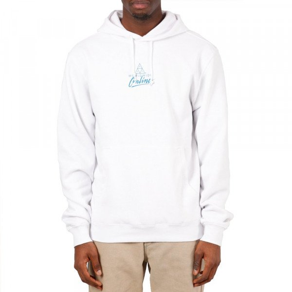 HUF HOOD FORBIDDEN DOMAIN WHITE