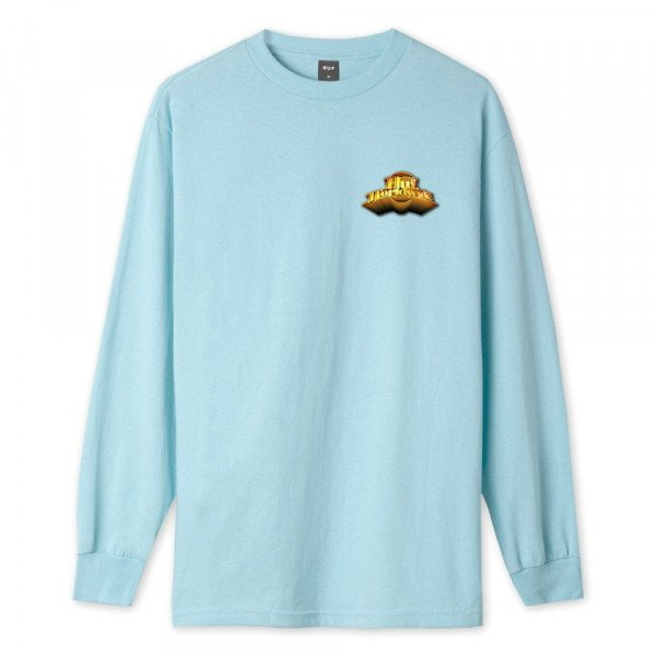 HUF LONGSLEEVE GREATEST HITS GREEK BLUE
