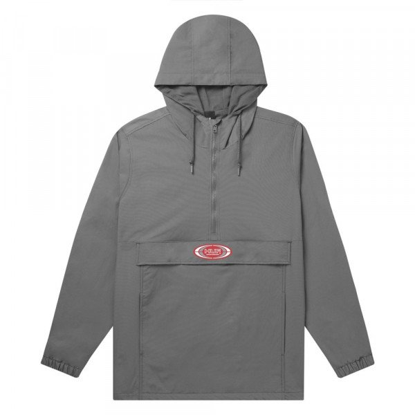 HUF JACKET HARLEM ANORAK HARBOR GREY