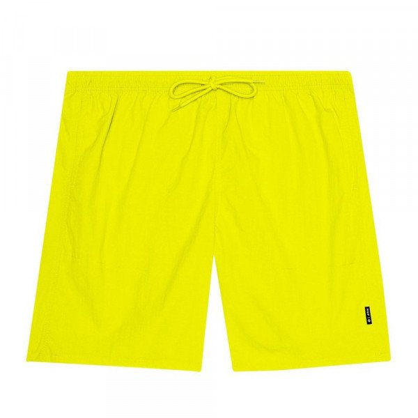 HUF ŠORTI DWR FUCK IT EASY HOT LIME