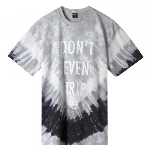 HUF T-SHIRT DONT EVEN TRIP CASTLE ROCK