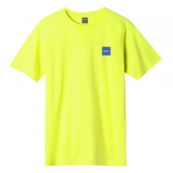 HUF T-SHIRT OLLIE HOT LIME