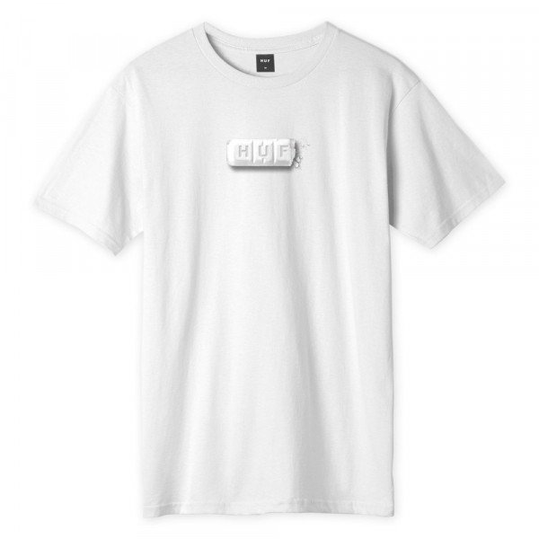 HUF T-SHIRT YOUTH OF TODAY WHITE