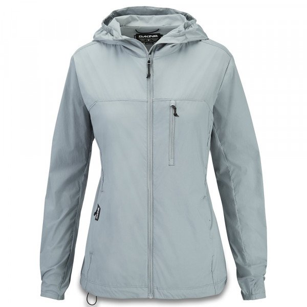 DAKINE JAKA REVERSIBLE FULL ZIP WINDBREAKER LEAD