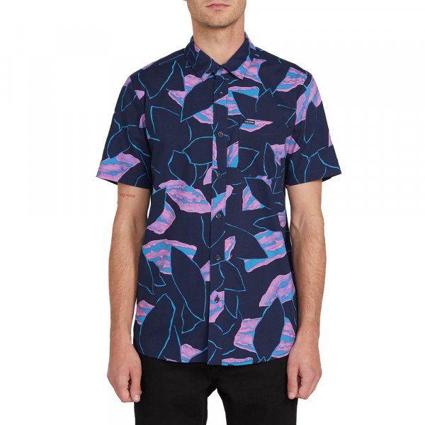 VOLCOM KREKLS SECRET LEAF S/S BLB