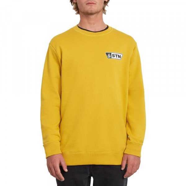 VOLCOM HOOD SUPPLY STONE CREW GLD