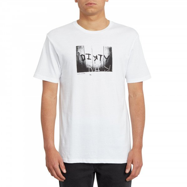 VOLCOM T-SHIRT DIRTY DAY BSC SS WHT