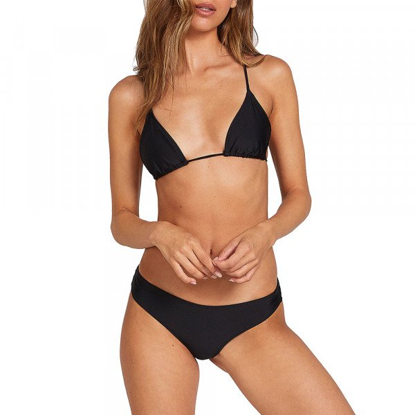 VOLCOM SIMPLY SOLID CHEEKINI BLK