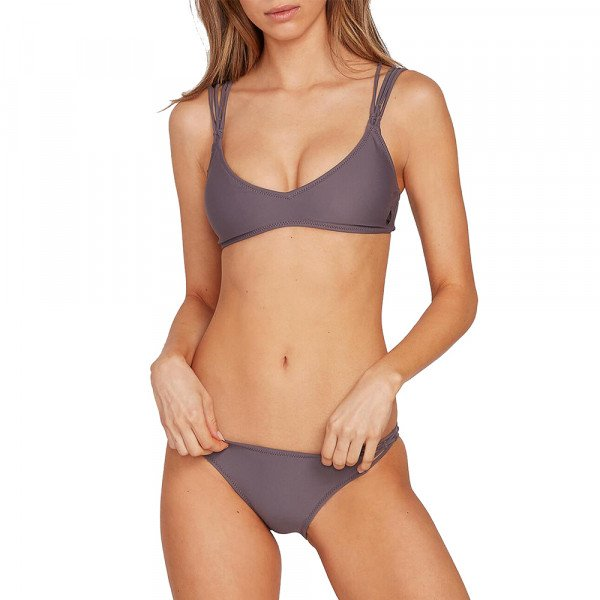 VOLCOM SIMPLY SOLID CHEEKINI STL