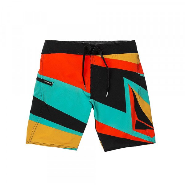 VOLCOM SHORTS RANSACKED MOD KIDS BLK