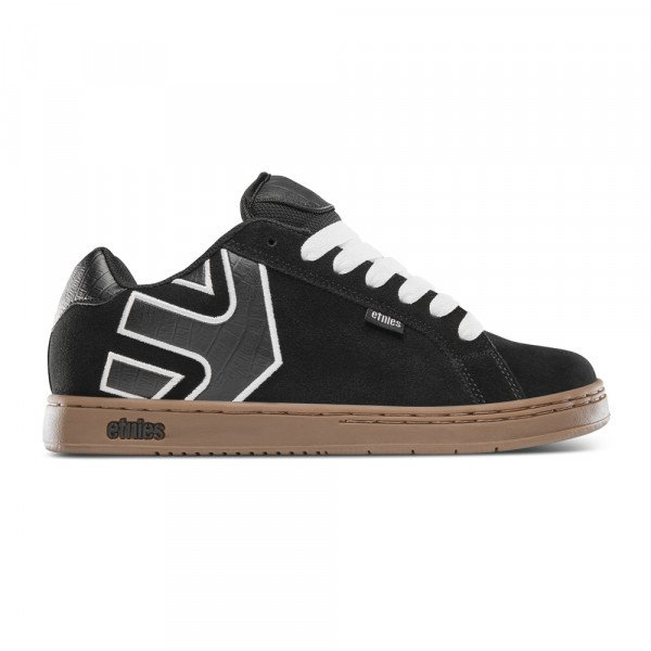 ETNIES SHOES FADER BLACK WHITE GUM