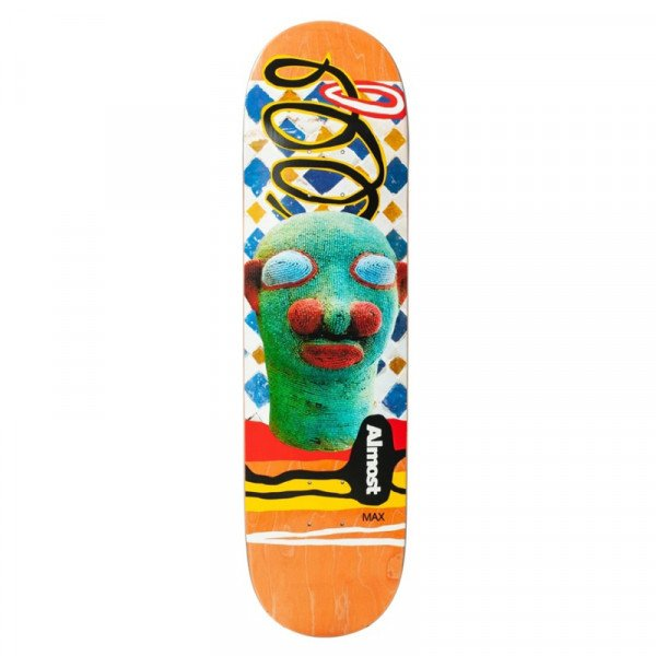 ALMOST MAX AFRICAN MASK R7  8.125 DECK