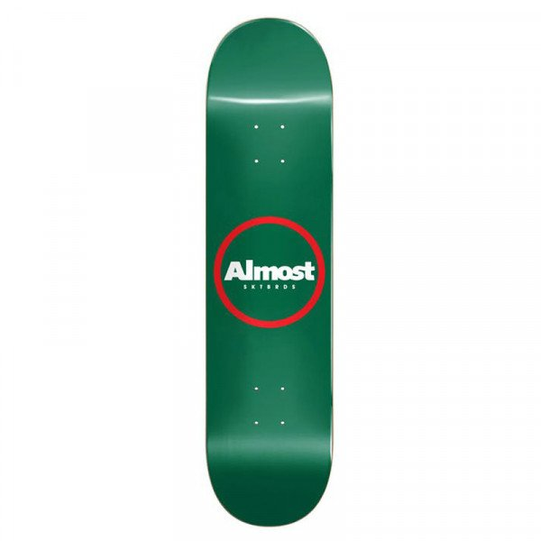 ALMOST RED RING LOGO HYB 8 DECK