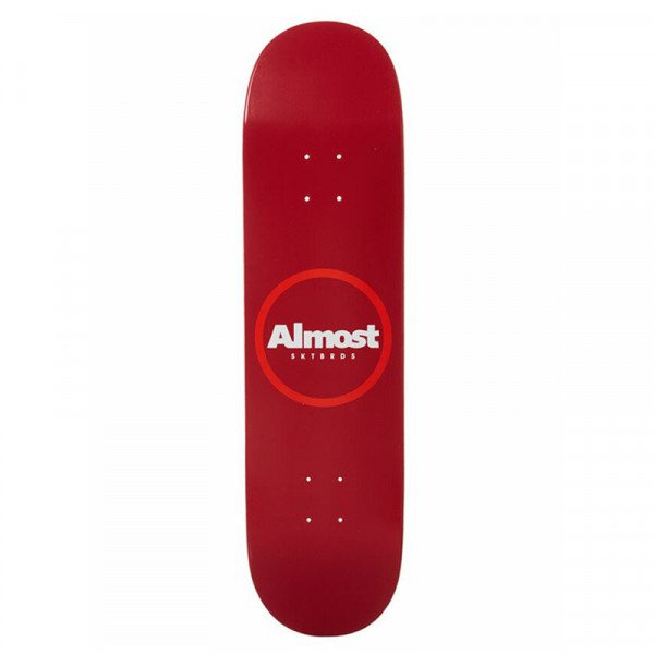 ALMOST RED RING LOGO HYB 8.25 DECK