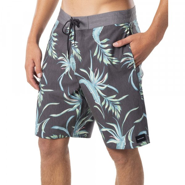 RIP CURL SHORTS SPACEY LAYDAY BLACK