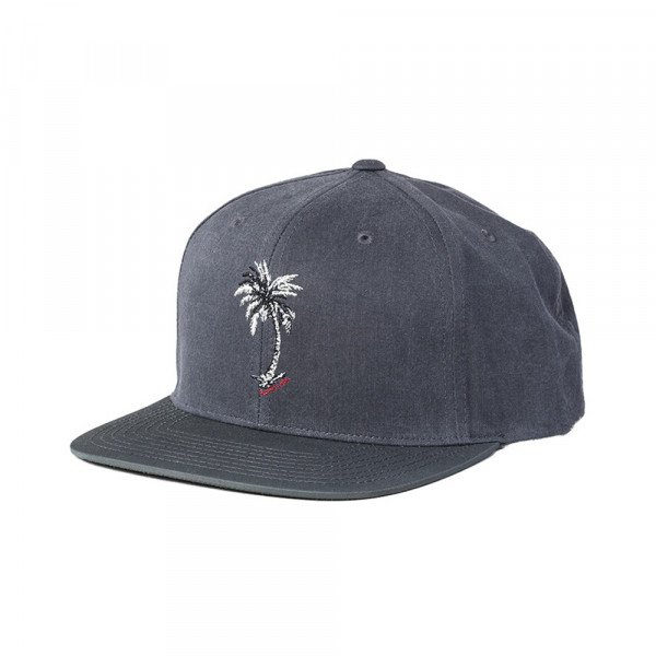 RIP CURL CEPURE PLANTATION SNAPBACK CHARCOAL GREY