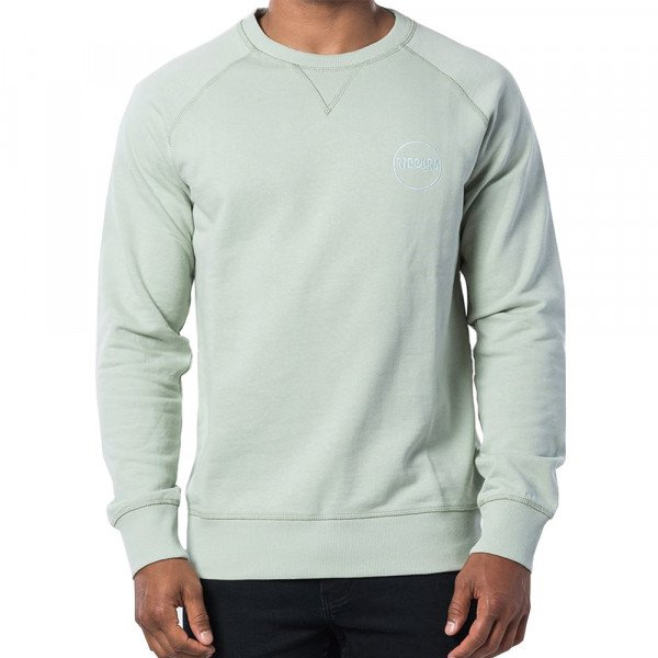 RIP CURL HOOD ECO CRAFT CREW SEAGRASS