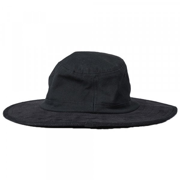 RIP CURL HAT SEARCH WIDE BRIM WASHED BLACK