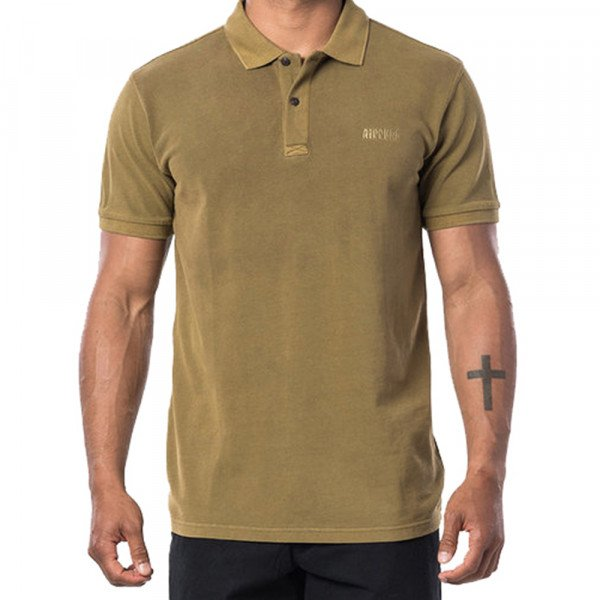 RIP CURL SHIRT FADED POLO MUSTARD
