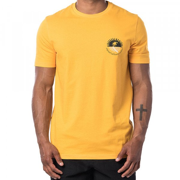 RIP CURL T-SHIRT SWC DISTANT GOLD