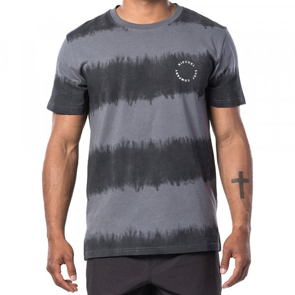 RIP CURL T-SHIRT ACIDOULOUS SS BLACK