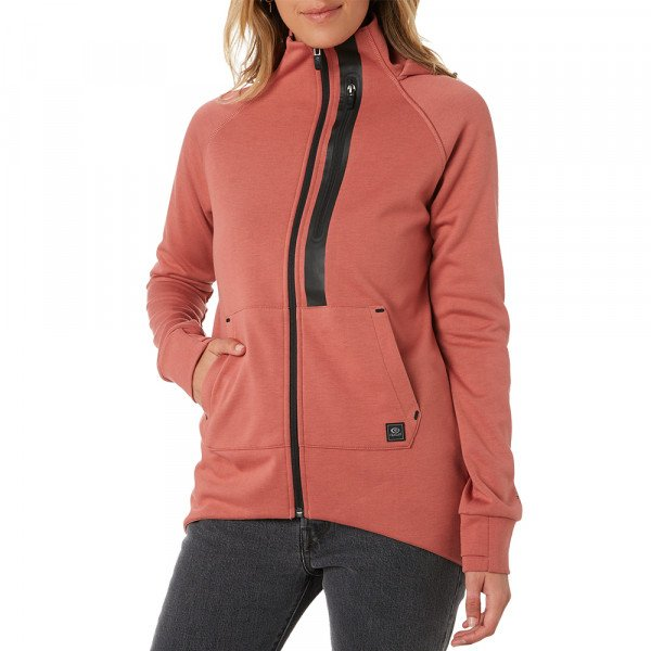 RIP CURL HOOD ANTI-SERIES FLUX DUSTY ROSE